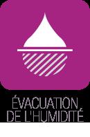 evacuation humidite